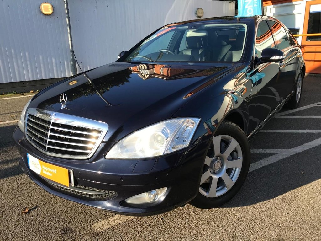 USED 2008 08 MERCEDES-BENZ S CLASS 3.0 S320 L CDI 4d 231 BHP ONE OWNER FROM NEW !!