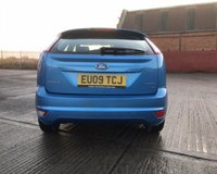 USED 2009 09 FORD FOCUS 1.6 ZETEC 5d 100 BHP