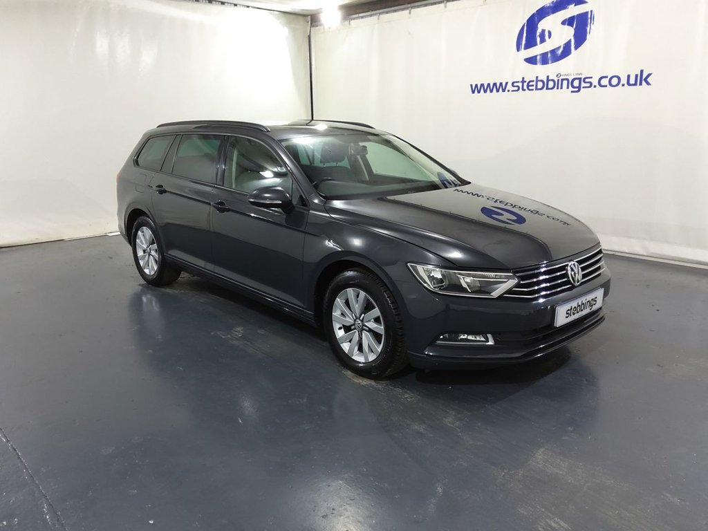 "USED 2016 66 VOLKSWAGEN PASSAT 1.6 S TDI BLUEMOTION TECHNOLOGY 5d 119 BHP  ESTATE AIR CON, COLOUR TOUCHSCREEN MEDIA, DAB RADIO CD, TRACTION CONTROL, PRIVACY GLASS, 16"" ALLOYS"