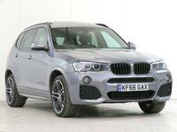 2016 BMW X3 2.0 xDrive20d M Sport PLUS Auto [£6,700 OPTIONS] £20289.00