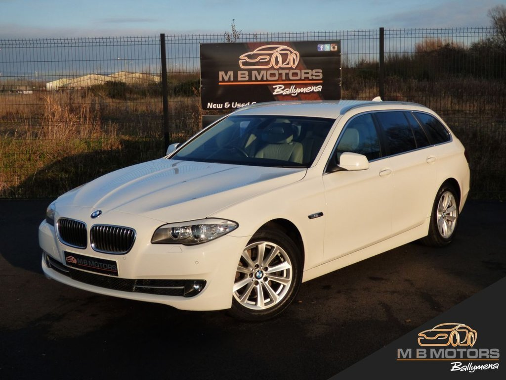 USED 2011 BMW 5 SERIES 520D SE TOURING 5d 181 BHP