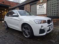 USED 2015 65 BMW X3 2.0 XDRIVE20D M SPORT 5d 188 BHP (Very Well Presented X3)