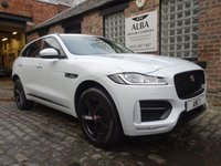 USED 2017 17 JAGUAR F-PACE 2.0 R-SPORT AWD 5d 178 BHP (Pan Roof / Full History)