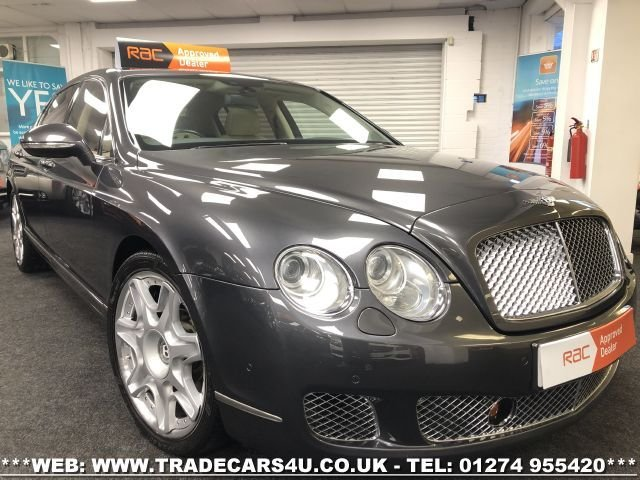 2011 60 BENTLEY CONTINENTAL FLYING SPUR 6.0 FLYING SPUR 4d 552 BHP