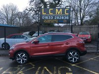 USED 2018 68 NISSAN QASHQAI 1.5 DCI TEKNA 5d 108 BHP STUNNING MAGNETIC RED METALLIC WITH HALF BLACK LEATHER/CLOTH UPHOLSTERY. FULL SERVICE HISTORY. LAST SERVICED 19th NOVEMBER 2019. GLASS PANORAMIC ROOF WITH ELECTRIC BLIND. SATELLITE NAVIGATION. 360 CAMERA. ELECTRIC FRONT SEAT. CRUISE CONTROL. DAB RADIO. AIR CONDITIONING. ELECTRIC WINDOWS ALL ROUND. REMOTE CENTRAL LOCKING WITH TWO KEYS. DIAMOND CUT AND POLISHED ALLOY WHEELS. STUNNING CONDITION. CALL US FIRST FOR BEST POSSIBLE FINANCE. PLEASE GOTO www.lowcostmotorcompany.co.uk TO VIEW OVER 120 CARS