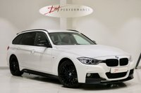 USED 2014 64 BMW 3 SERIES 3.0 335D XDRIVE M SPORT TOURING 5d 309 BHP HUGE SPEC/M PERFORMANCE/HUD