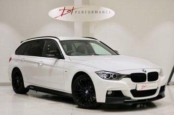 2014 BMW 3 SERIES 3.0 335D XDRIVE M SPORT TOURING 5d 309 BHP £18450.00