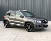 2015 VOLKSWAGEN TIGUAN 2.0 R LINE TDI BLUEMOTION TECHNOLOGY 4MOTION 5d 139 BHP £11995.00
