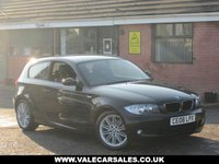 USED 2008 08 BMW 1 SERIES 118D M SPORT (ONE OWNER+FULL HISTORY) 3dr ONE OWNER FROM NEW + FULL SERVICE HISTORY
