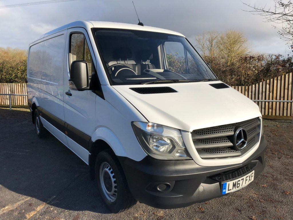 USED 2017 67 MERCEDES-BENZ SPRINTER 2.1CDI 314 MWB L/ROOF (EURO 6)(140 BHP)