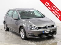 USED 2016 66 VOLKSWAGEN GOLF 1.6 MATCH EDITION TDI DSG 5d 109 BHP SAT NAV FRONT & REAR PARKING SENSORS Stunning VW Golf 1.6TDI Match Edition Bluemotion, having had just 1 Previous Owner, comes with Full VW Service History and an MOT until 23rd September 2020. Comes fully equipped with SAT NAV, Reversing Camera, Park Pilot, Front & Rear Parking Sensors, Heated Seats, Auto Headlights, Folding Wing Mirrors, Adaptive Cruise Control, Bluetooth, Air Conditioning, Leather Multi-Functional Steering Wheel, 2 Keys and a Free Warranty. Comes in Metallic Limestone Grey together with a Free Warranty.