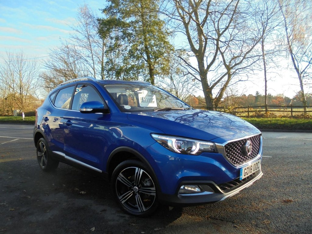 USED 2018 18 MG MG ZS 1.5 EXCLUSIVE 5d 105 BHP