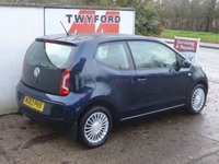 USED 2013 63 VOLKSWAGEN UP 1.0 HIGH UP 3d 74 BHP ONLY 14000 MILES,AUTOMATIC,SAT NAV