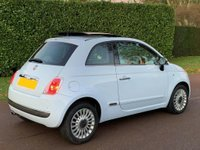USED 2008 08 FIAT 500 1.4 16v Lounge 3dr LOW MILES+AUTO+MOT TILL 11/20