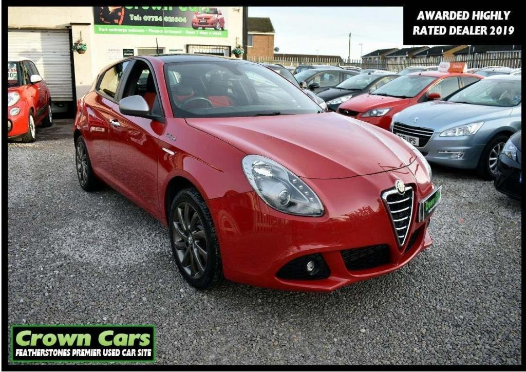 USED 2013 63 ALFA ROMEO GIULIETTA 1.4 TB MultiAir Collezione 5dr 3 MONTH WARRANTY & PDI CHECKS