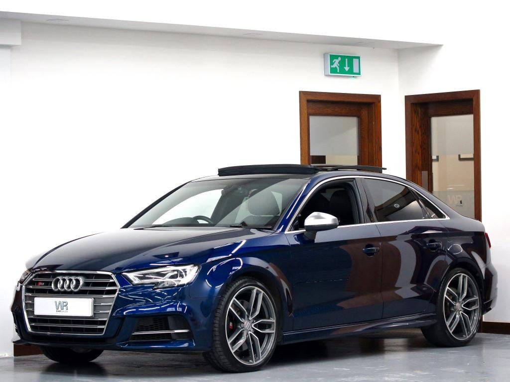USED 2017 66 AUDI S3 2.0 TFSI S Tronic quattro (s/s) 4dr PAN ROOF + VIRTUAL COCKPIT
