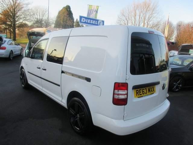 USED 2013 63 VOLKSWAGEN CADDY 1.6 C20 TDI STARTLINE 101 BHP ** 01543 379066 ** JUST ARRIVED **