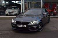 USED 2014 14 BMW 4 SERIES 2.0 420I XDRIVE M SPORT 2d 181 BHP FINANCE TODAY WITH NO DEPOSIT