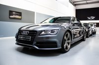 USED 2014 14 AUDI A7 3.0 TDI QUATTRO BLACK EDITION 5d 245 BHP  **HUGE SPECIFICATION-TECHNOLOGY PACKAGE & 21 INCH ROTARY WHEELS!**