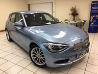 2013 BMW 1 SERIES 1.6 116i URBAN TURBO AUTOMATIC 5dr 136 BHP £10495.00
