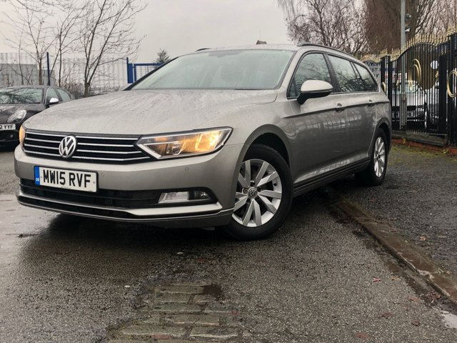 USED 2015 15 VOLKSWAGEN PASSAT 1.6 S TDI BLUEMOTION TECHNOLOGY 5d 119 BHP ALLOYS+20 ROAD TAX+HISTORY+CD+AIRCON+PARK+ELECS+CRUISE+TOW BAR+