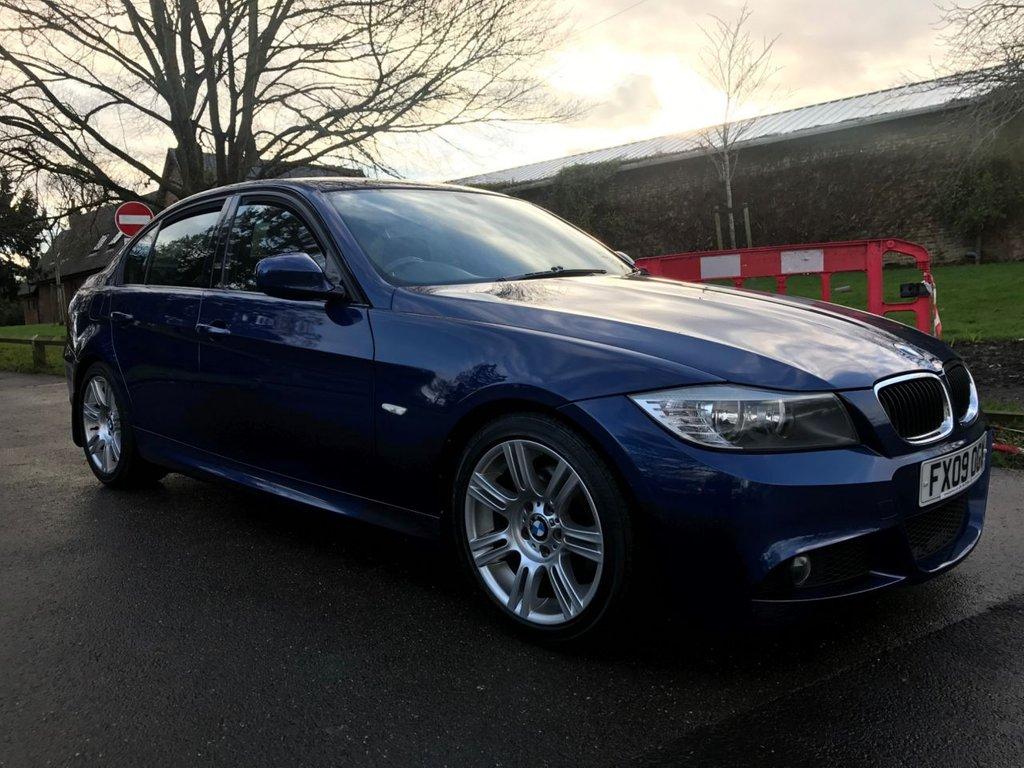 USED 2009 09 BMW 3 SERIES 2.0 318I M SPORT 4d 141 BHP Great Low Mileage M-Sport Model