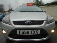 USED 2008 58 FORD FOCUS 1.6 TITANIUM 5d 100 BHP GUARANTEED TO BEAT ANY 'WE BUY ANY CAR' VALUATION ON YOUR PART EXCHANGE