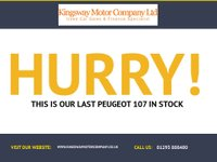 USED 2009 09 PEUGEOT 107 1.0 VERVE 5d 68 BHP GUARANTEED TO BEAT ANY 'WE BUY ANY CAR' VALUATION ON YOUR PART EXCHANGE
