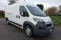 USED 2017 67 PEUGEOT BOXER 435 PROFESSIONAL L4H2 EXTRA LWB HIGHTOP 2.0 BLUE HDI  130 BHP One Company Owner 31000 Miles With FSH & Warranty Till September 2020, Top Of Range Model With Additional Twin Side Loading Doors, Very Clean Example!