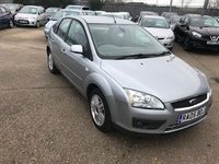 USED 2005 05 FORD FOCUS 2.0 GHIA 16V 5d 144 BHP