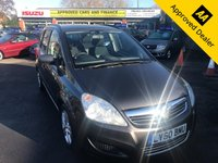 2011 VAUXHALL ZAFIRA 1.9 EXCLUSIV CDTI 5d 118 BHP IN BLACK WITH ONLY 31000 MILES WITH A FULLY AUTOMATIC GEARBOX IN IMMACULATE CONDITION £4399.00