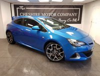 USED 2013 13 VAUXHALL ASTRA GTC 2.0 VXR 3d 276 BHP + SAT NAV + PRIVACY GLASS