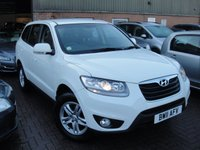 USED 2011 11 HYUNDAI SANTA FE 2.2 STYLE CRDI  5d 194 BHP ANY PART EXCHANGE WELCOME, COUNTRY WIDE DELIVERY ARRANGED, HUGE SPEC