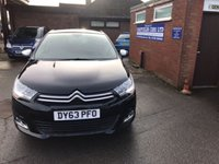 USED 2013 63 CITROEN C4 1.6 SELECTION 5d 118 BHP ONLY 49K MILES, 2 OWNERS, FULL HISTORY