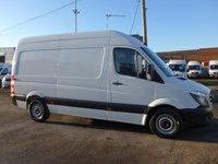 USED 2015 65 MERCEDES-BENZ SPRINTER 313 CDI MWB HI ROOF, 129 BHP [EURO 5]