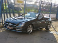 2014 MERCEDES-BENZ SLK SLK250 CDI BLUEEFFICIENCY AMG SPORT Auto Sat nav Full leather Paddle shift Cruise £11500.00