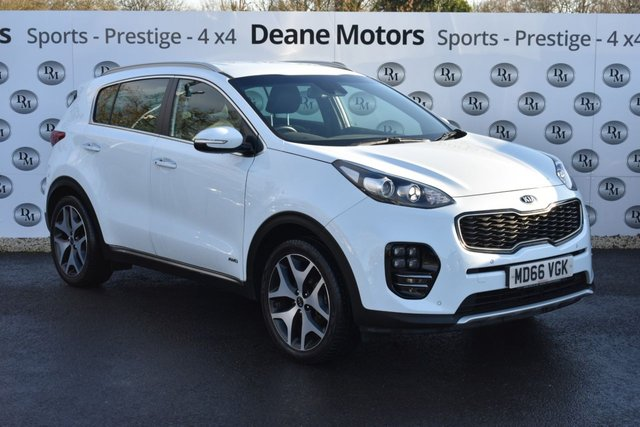 2017 66 KIA SPORTAGE 1.6 GT-LINE 5d 174 BHP AMAZING VALUE