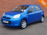 USED 2012 62 NISSAN MICRA 1.2 VISIA 5d FULL NISSAN SERVICE HISTORY