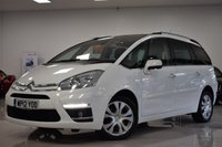 USED 2012 12 CITROEN C4 GRAND PICASSO 1.6 PLATINUM HDI 5d 110 BHP FULL MAIN DEALER SH + 7 STAMPS! MUST BE SEEN!