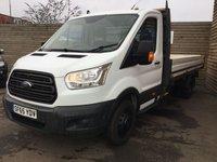 2015 FORD TRANSIT 2.2 350 C/C DRW 124 BHP £11499.00