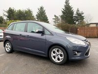 2012 FORD GRAND C-MAX 1.0 ZETEC 5d 124 BHP 7 SEATER WITH FULL SERVICE HISTORY £6300.00