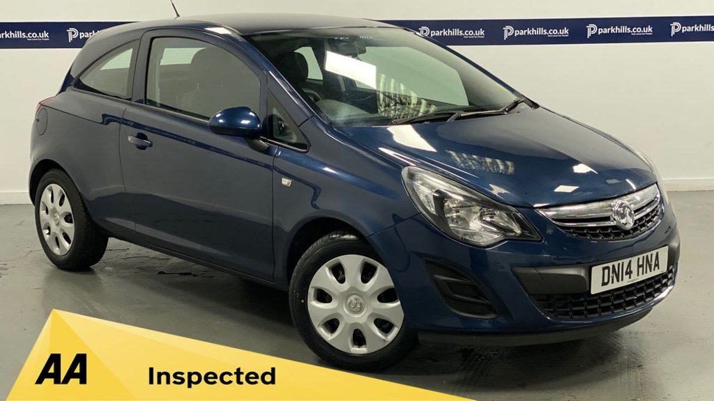 USED 2014 14 VAUXHALL CORSA 1.2 DESIGN AC 3d 85 BHP (AIR CON - LOW INSURANCE)