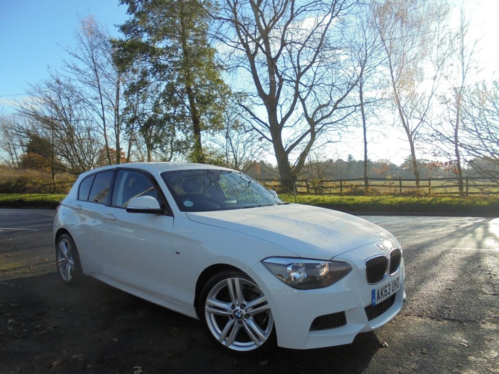 USED 2013 63 BMW 1 SERIES 2.0 116D M SPORT 5d 114 BHP