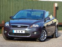 USED 2008 58 FORD FOCUS 2.0 CC2 2d 144 BHP LONG MOT, LOW MILEAGE