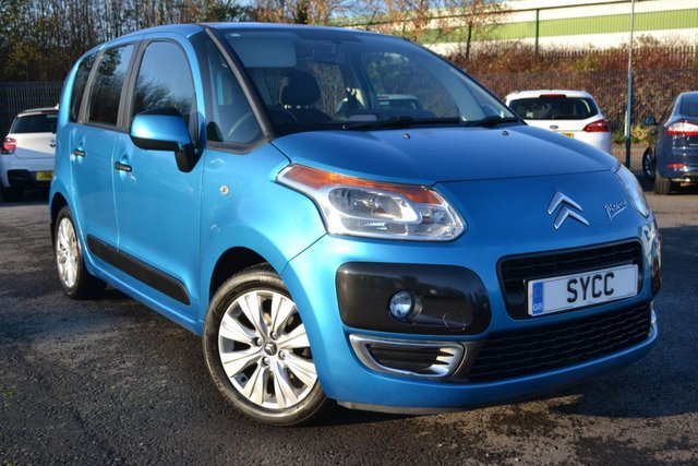 USED 2010 60 CITROEN C3 PICASSO 1.6 PICASSO VTR PLUS HDI  5d 90 BHP ~ £30 ROAD TAX JUST SERVICED ~ 7 SERVICE STAMPS ~ 2 KEYS ~ 6 MONTHS WARRANTY