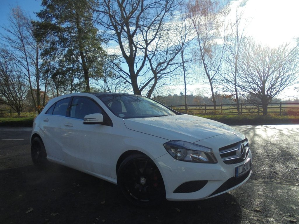 USED 2013 63 MERCEDES-BENZ A CLASS 1.5 A180 CDI BLUEEFFICIENCY SPORT 5d 109 BHP