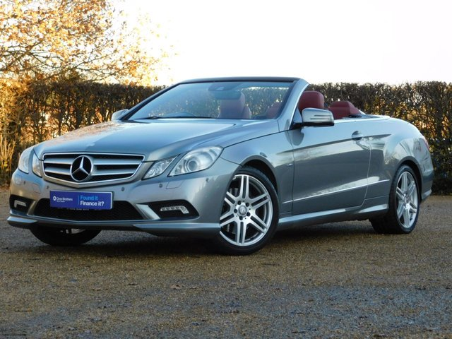 USED 2010 60 MERCEDES-BENZ E CLASS 1.8 E250 CGI BLUEEFFICIENCY SPORT 2d 204 BHP Leather+Heated Seats+Airscarf