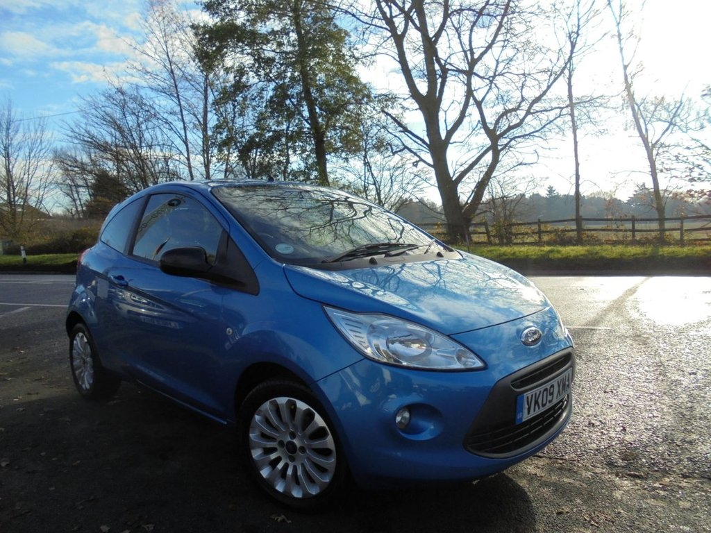 USED 2009 09 FORD KA 1.2 ZETEC 3d 69 BHP