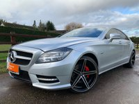 USED 2011 11 MERCEDES-BENZ CLS CLASS 3.0 CLS350 CDI SPORT AMG 4d 265 BHP SAT NAV HARMAN KARDON SOUND PACK REVERSE CAMERA ELECTRIC MEMORY HEATED SEATS