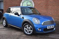USED 2011 61 MINI HATCH ONE 1.6 ONE PIMLICO 3d 97 BHP WE OFFER FINANCE ON THIS CAR